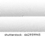 abstract halftone dotted... | Shutterstock .eps vector #662959945