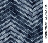 abstract indigo dyed broken... | Shutterstock . vector #662965645