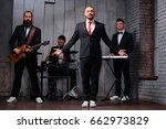 music band and fashion. ... | Shutterstock . vector #662973829