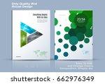 brochure design  abstract...   Shutterstock .eps vector #662976349