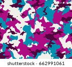 camouflages colorful pattern ...   Shutterstock . vector #662991061