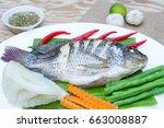 Steamed Nilotica Fish Thai...