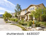 stucco southwest houses | Shutterstock . vector #6630337