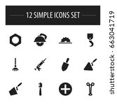 set of 12 editable apparatus...