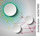 label infographic design....   Shutterstock .eps vector #663067885