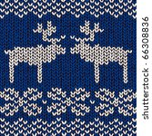 Jumper Pattern With Reindeers ...