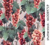 Grape Seamless Pattern....