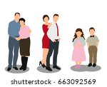 vector  isolated  flat style ...   Shutterstock .eps vector #663092569