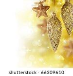 Christmas Decoration Border...