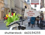 positive vibes only attitude...   Shutterstock . vector #663154255