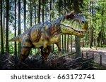 ledmane  latvia   june 2017 ... | Shutterstock . vector #663172741
