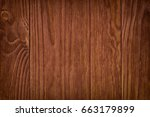 old rustic red wood background  ...   Shutterstock . vector #663179899