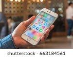 bangkok  thailand   june 20 ... | Shutterstock . vector #663184561