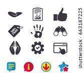 hand icons. like thumb up...