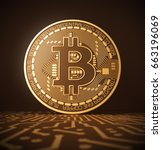 Virtual Coin Bitcoin On Printe...