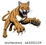 vector illustration of angry... | Shutterstock .eps vector #663202129