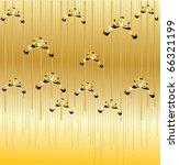 gold elegant christmas...   Shutterstock .eps vector #66321199
