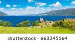 Urquhart Castle Along Loch Nes...