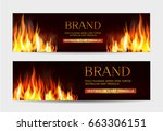 vector set. illustration with a ...   Shutterstock .eps vector #663306151