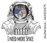 usa flag glasses american flag... | Shutterstock . vector #663322675