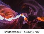 beautiful  of sandstone... | Shutterstock . vector #663348709