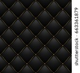quilted pattern background vip... | Shutterstock . vector #663361879