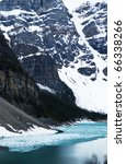lake morain in canada | Shutterstock . vector #66338266