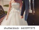 holding hands | Shutterstock . vector #663397375
