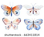vector illustration of... | Shutterstock .eps vector #663411814