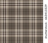 plaid  tartan  seamless pattern.... | Shutterstock .eps vector #663413329