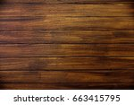 perfect wood planks background...   Shutterstock . vector #663415795