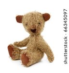 Teddy Bear Isolated On White...