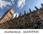 london  uk   apr 19  2017  big... | Shutterstock . vector #663459544