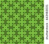seamless pattern. modern...   Shutterstock . vector #663483031