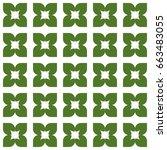 seamless pattern. modern...   Shutterstock . vector #663483055