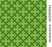 seamless pattern. modern...   Shutterstock . vector #663483061