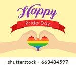 gay pride  | Shutterstock .eps vector #663484597