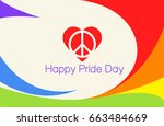 gay pride  | Shutterstock .eps vector #663484669