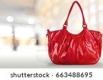 handbag. | Shutterstock . vector #663488695