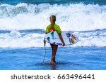 jaco beach  costa rica   june... | Shutterstock . vector #663496441