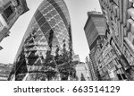 city of london. modern and old... | Shutterstock . vector #663514129