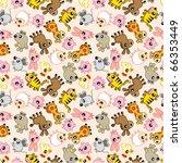 Seamless Animal Pattern
