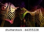 digital illustration  of collar ... | Shutterstock . vector #66355228