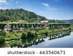 luzech is a small village on... | Shutterstock . vector #663560671