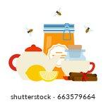 Tea Maker  Honey Pot With Lid...