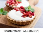 Wild Strawberry Tartlets With...