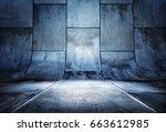 3d rendering of a presentation...   Shutterstock . vector #663612985
