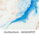 abstract hand painted... | Shutterstock . vector #663626929