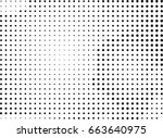 abstract halftone dotted...   Shutterstock .eps vector #663640975
