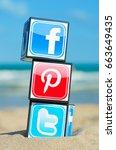 alicante  spain   august 31 ...   Shutterstock . vector #663649435